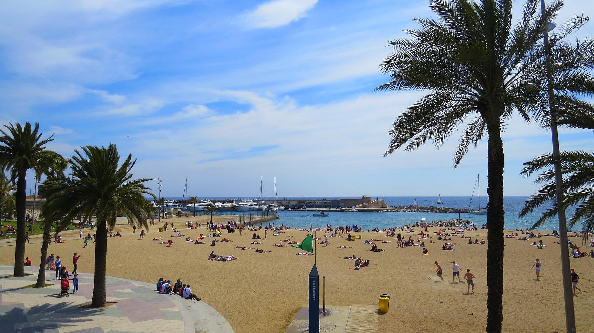 barcelona plaże