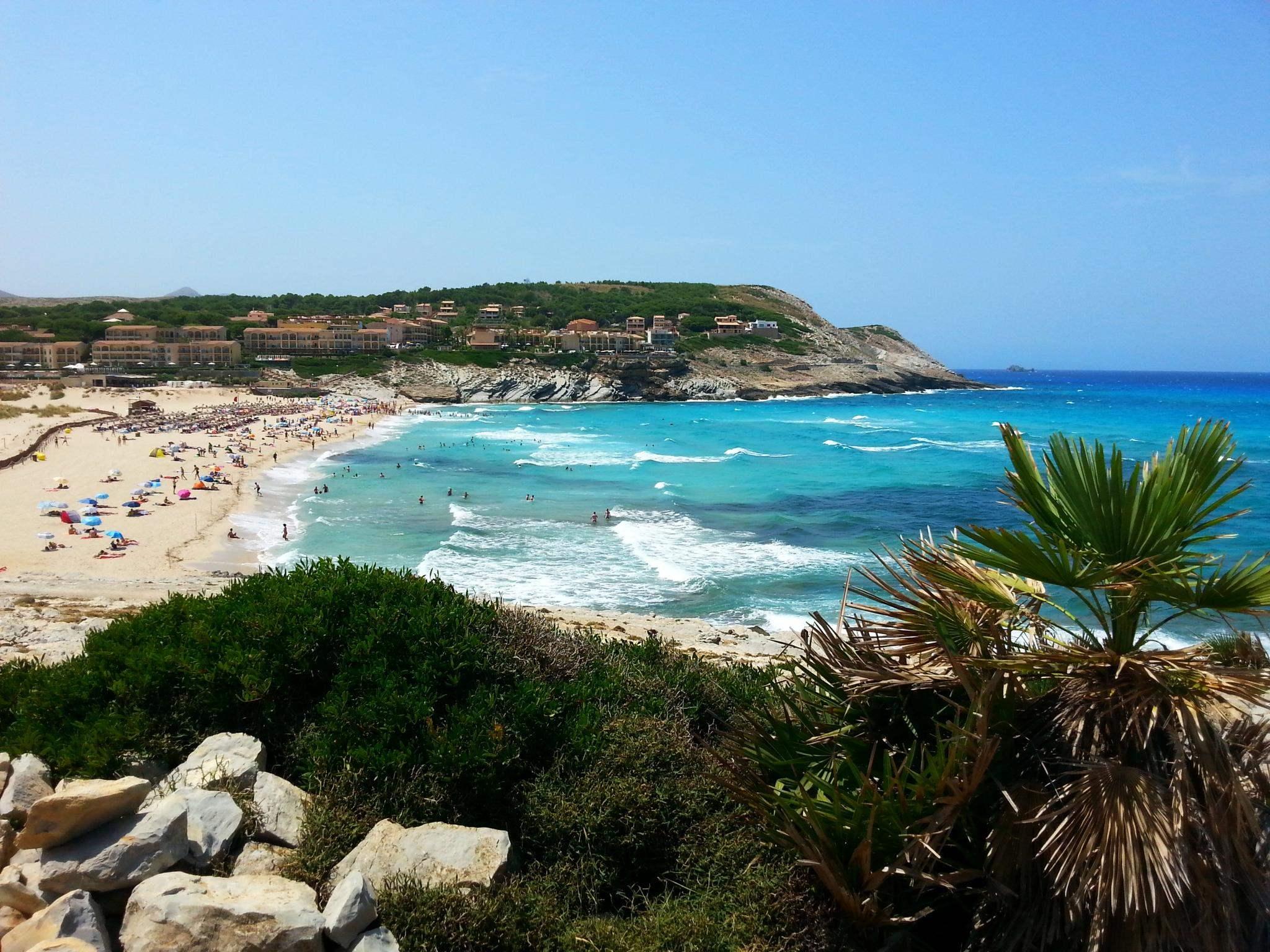 plaże majorka