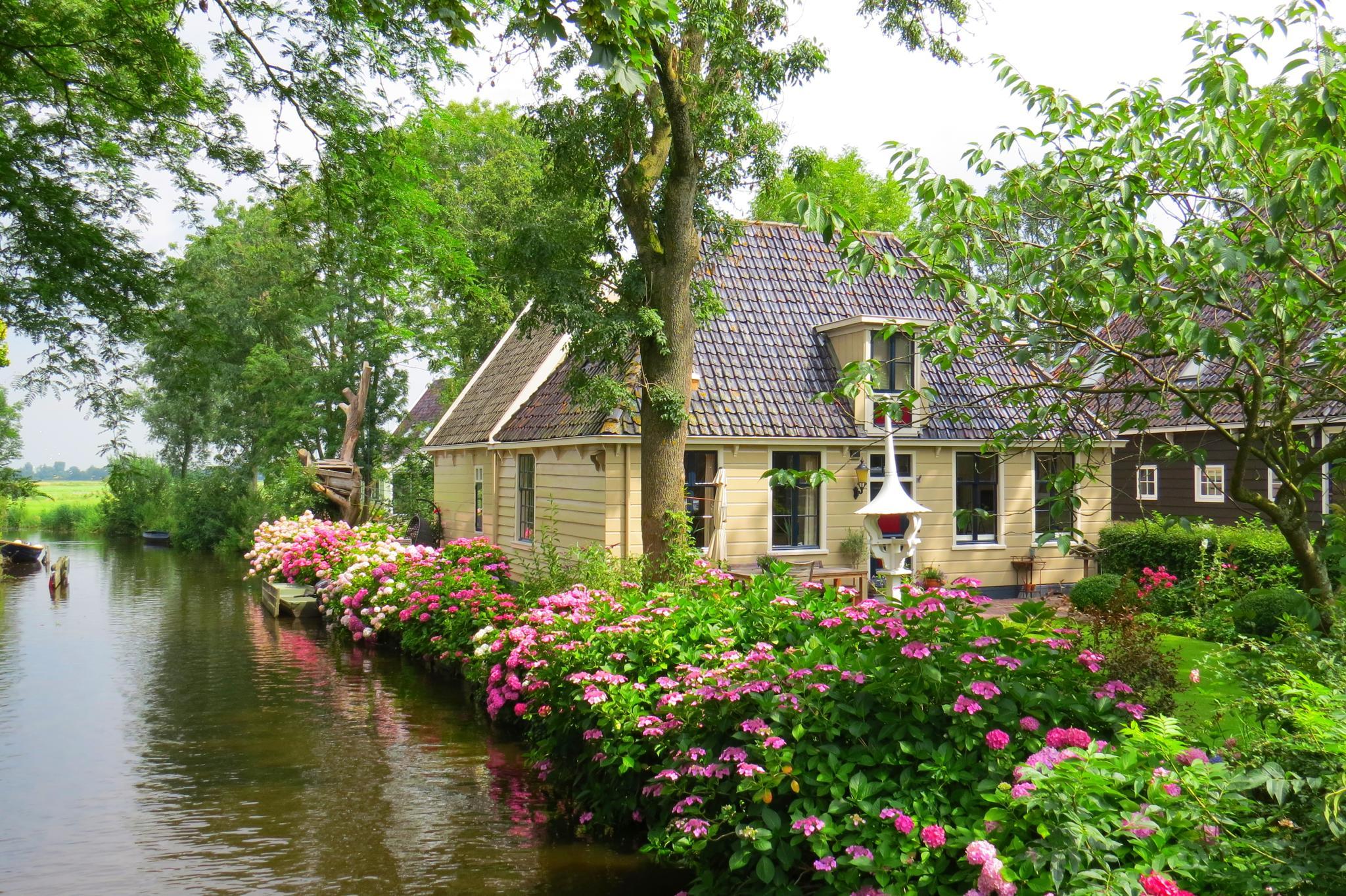 miasta Holandia Broek in waterland