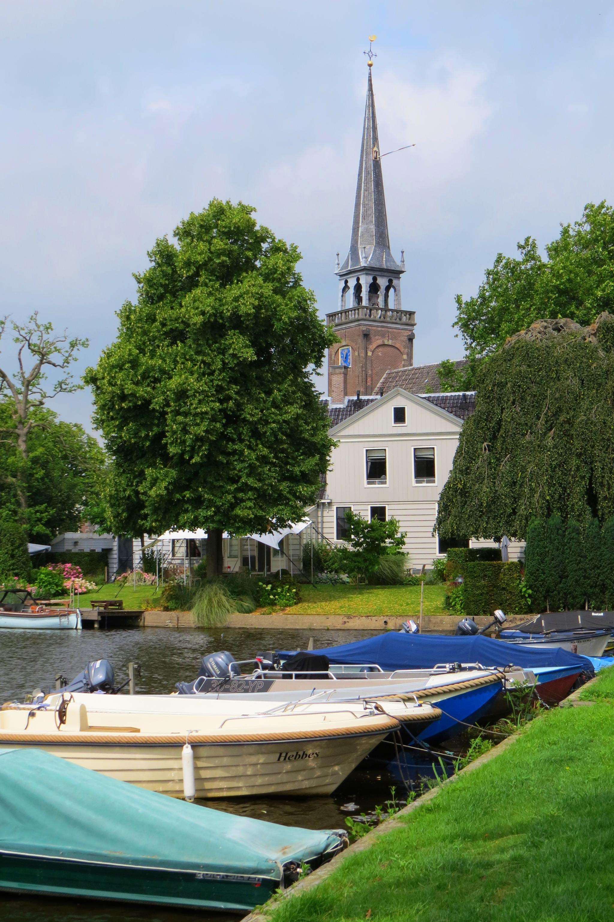 miasta w Holandii Broek in Wateland