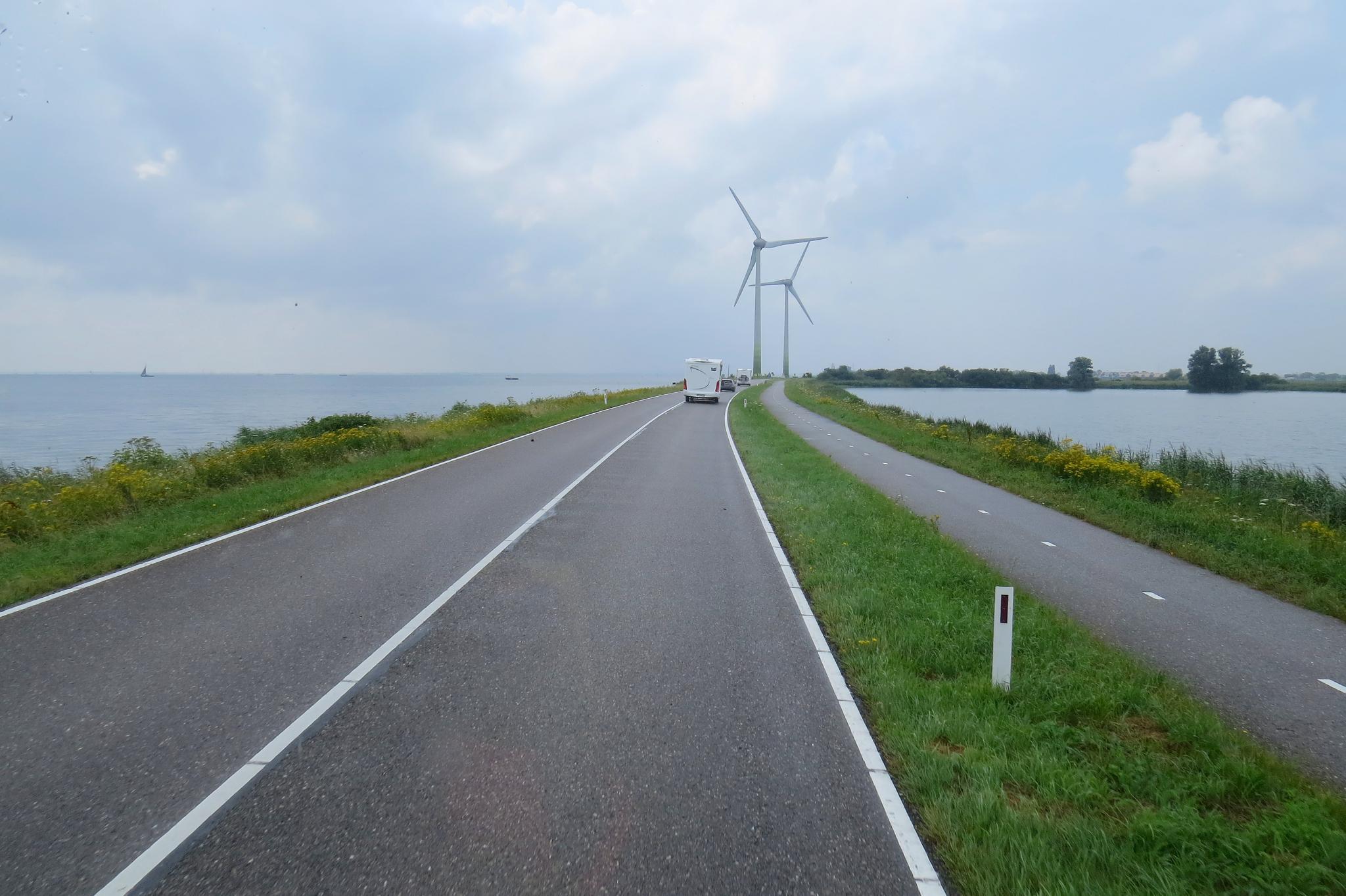 miasteczka w Holandii droga do marken