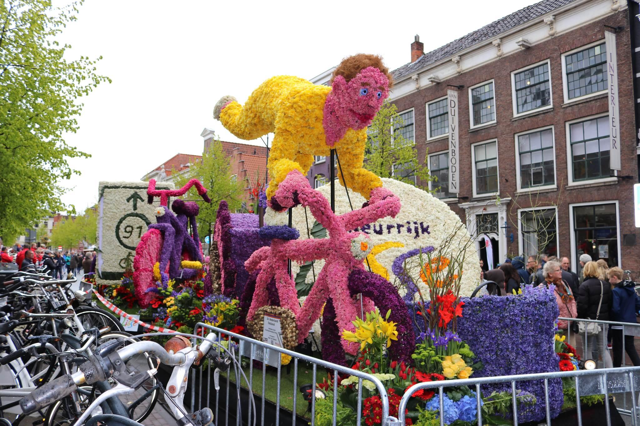 holandia parada kwiatów