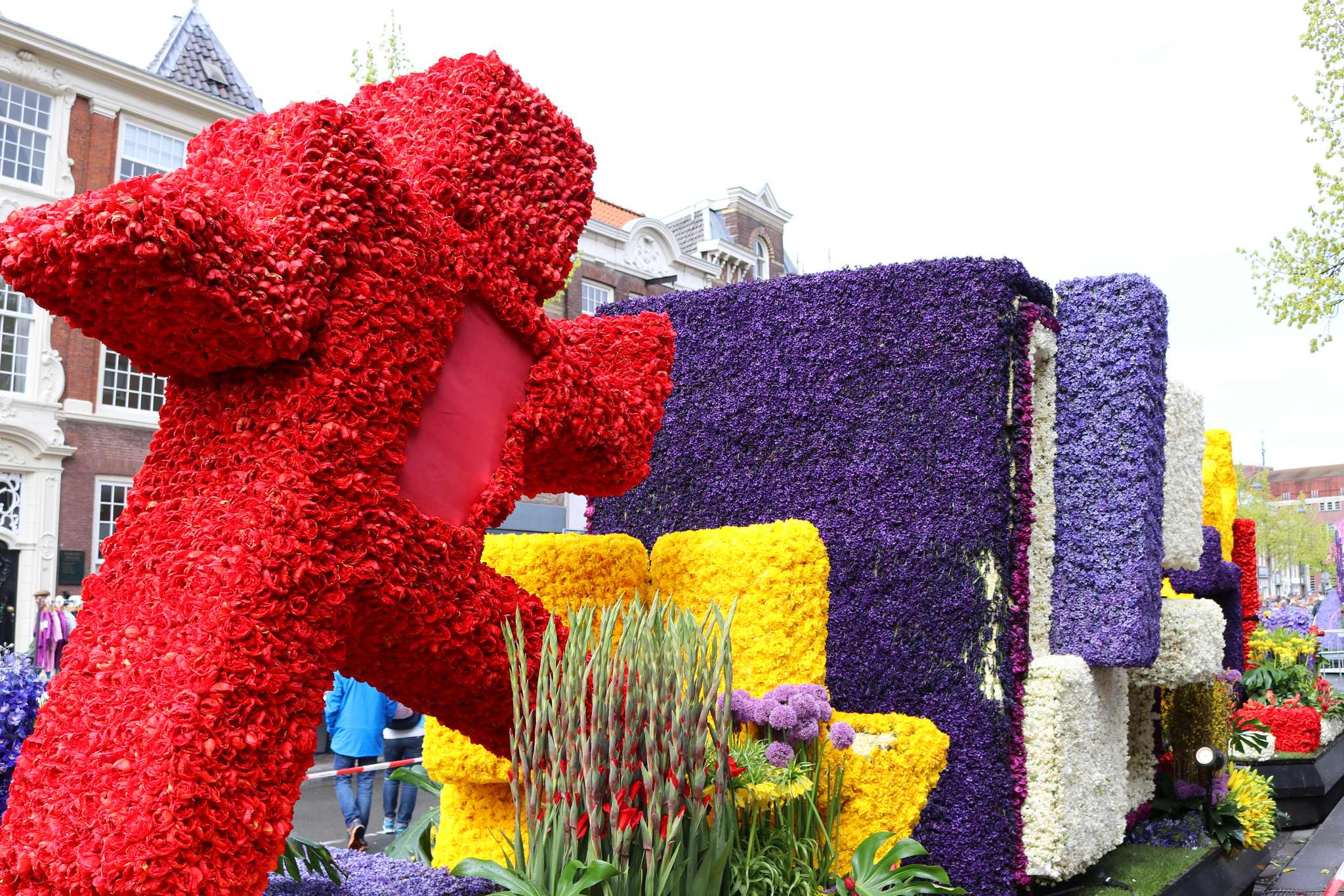 parada kwiatów haarlem