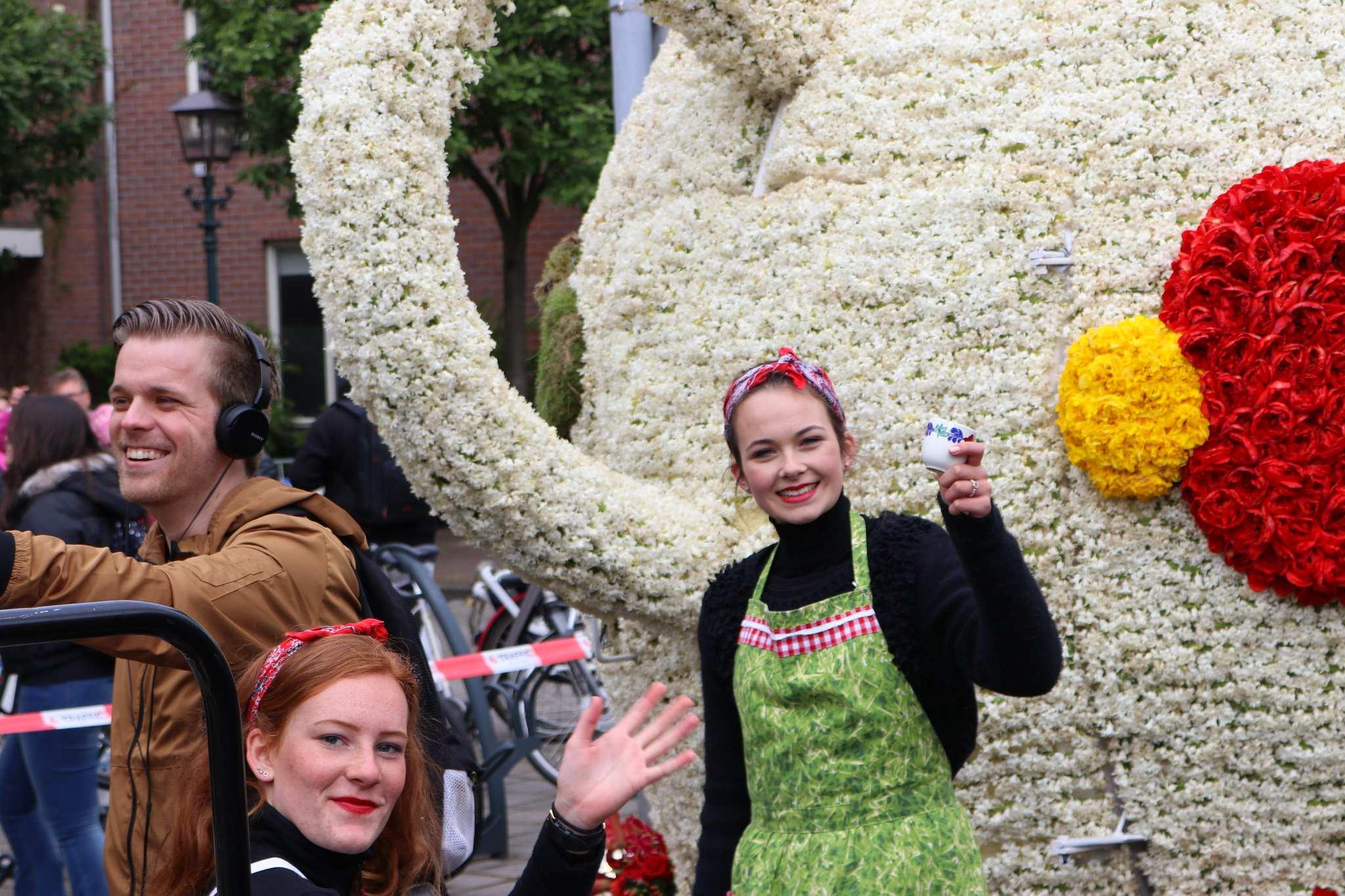 parada kwiatów holandia