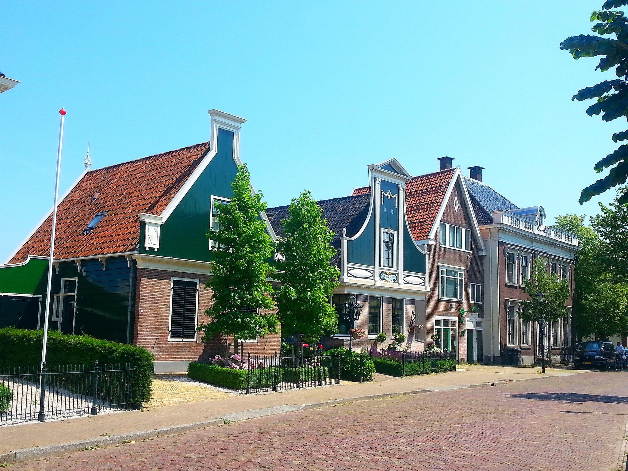 miasta w Holandii Zaanse schans