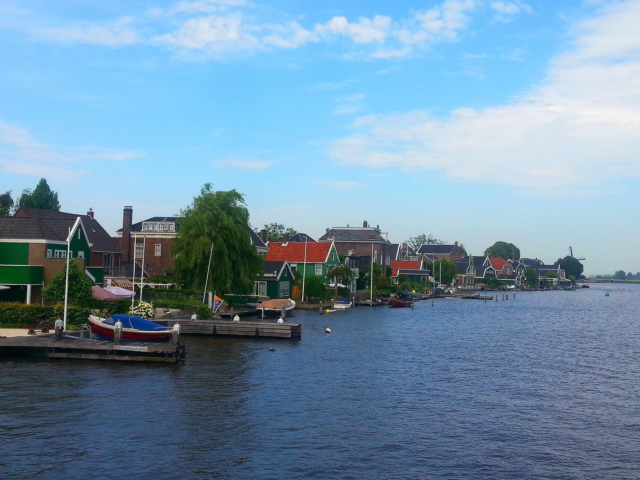 miasteczka w Holandii Zaanse Schans