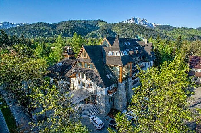 małopolska hotele piękne położenie