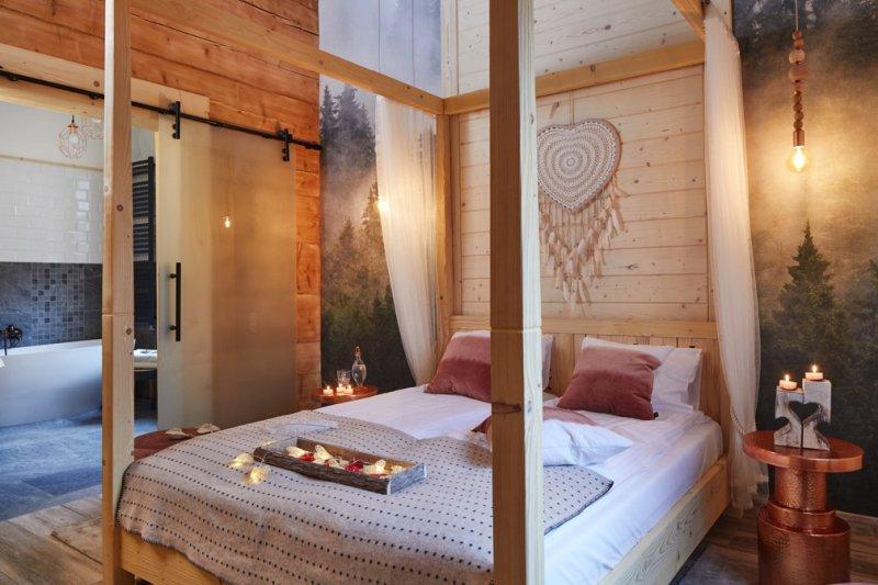 hotel w małopolsce sypialnia
