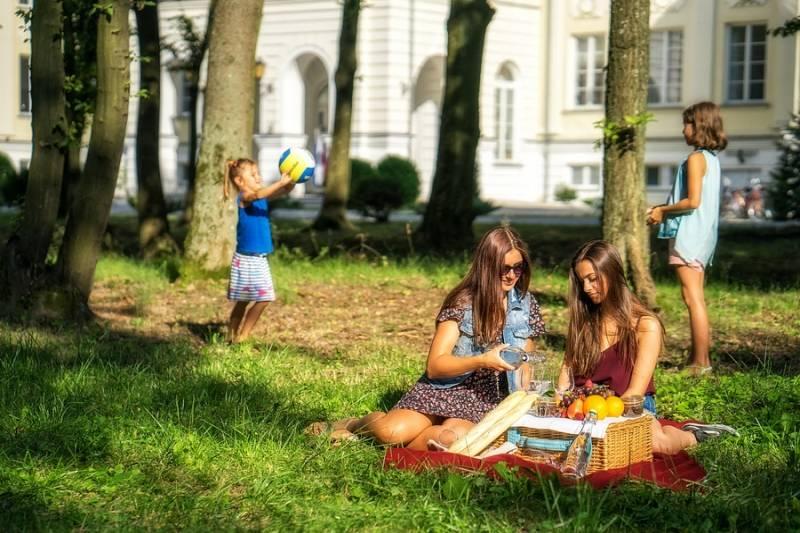hotele dla rodzin piknik