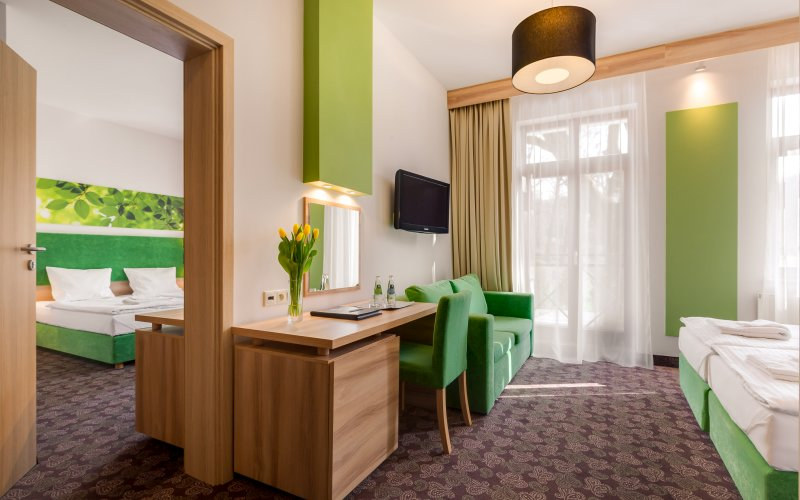 hotele dla rodzin z dziećmi apartament