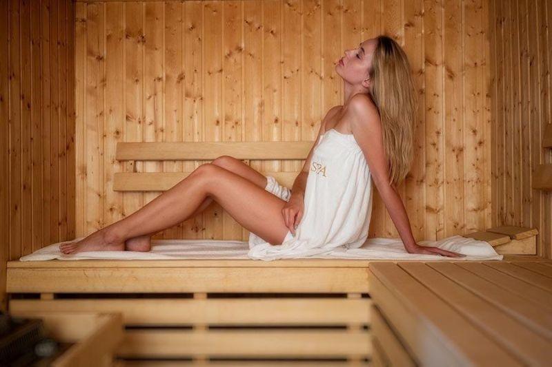 sauna pałac alexandrinum