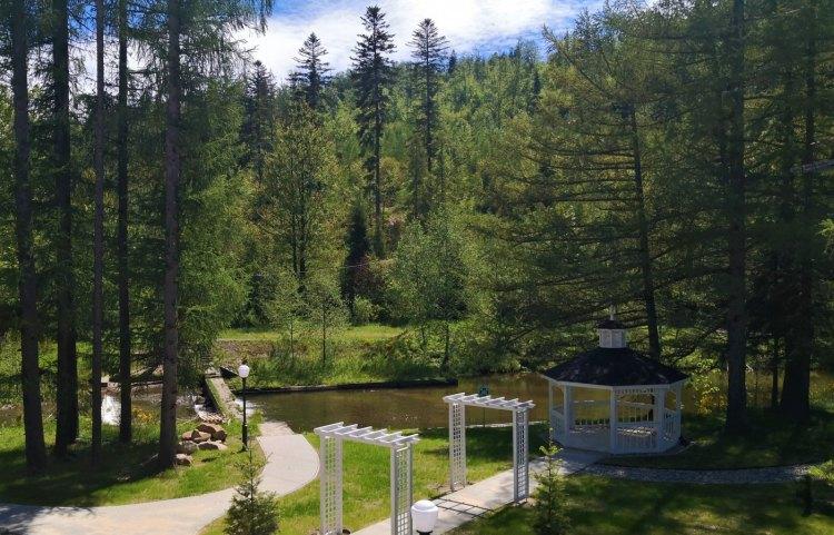 piękne hotele SPA ogród