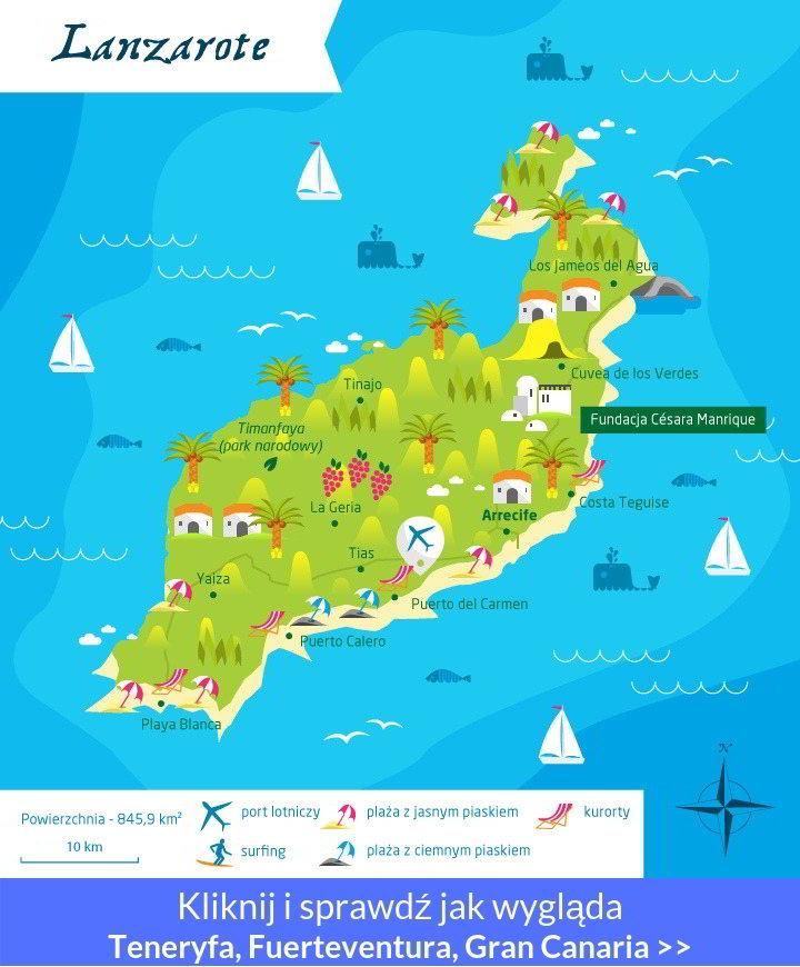 Wyspy Kanaryjskie: Teneryfa, Fuerteventura, Gran Canaria, Lanzarote – którą wybrać