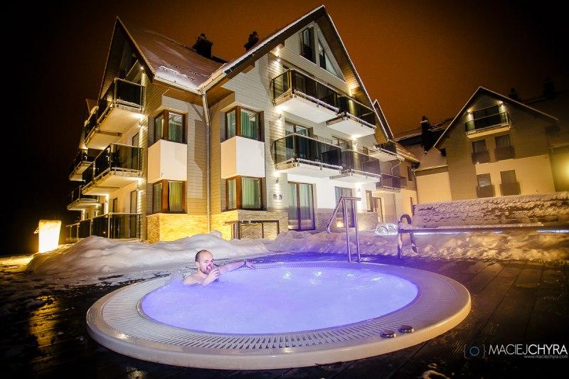 hotel w górach dla rodzin jacuzzi