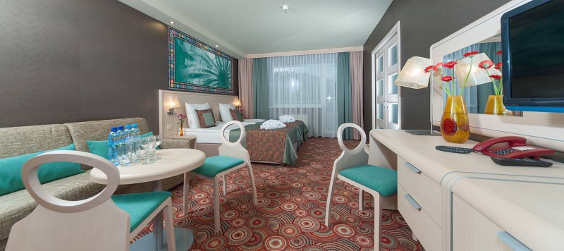 hotel w górach pokój