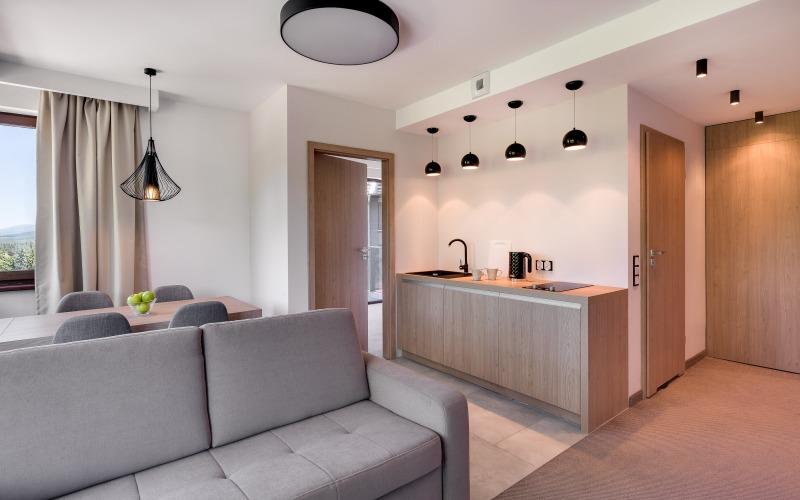 hotele w górach dla rodzin apartament
