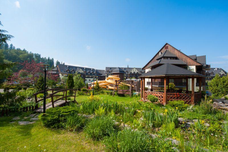 hotele w górach dla rodzin ogród