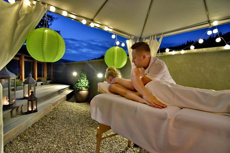 hotele w górach masaż