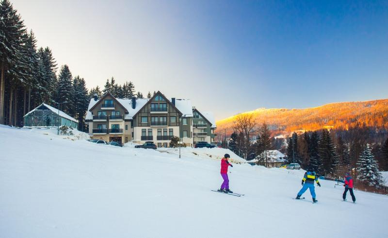 hotel w górach dla rodzin stok