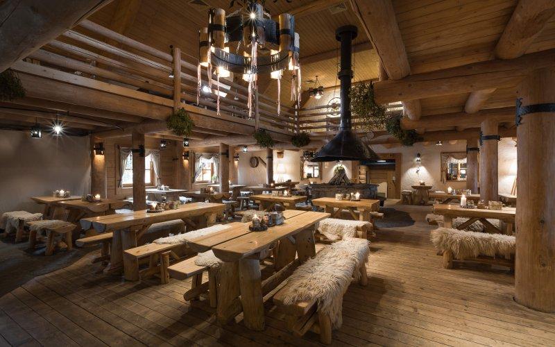 hotel w górach restauracja