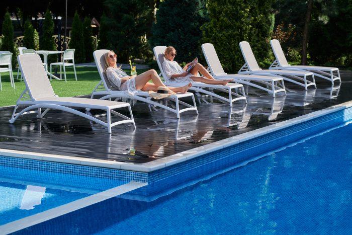 hotel medical spa basen zewnętrzny