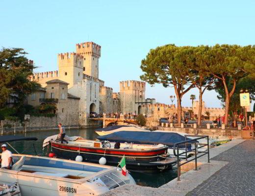 najpiękniejsze miasta nad jeziorem garda