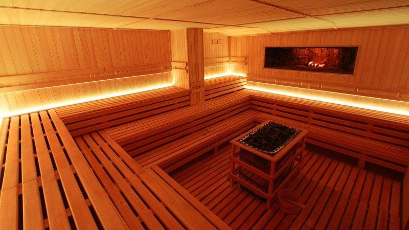 święta w hotelu sauna
