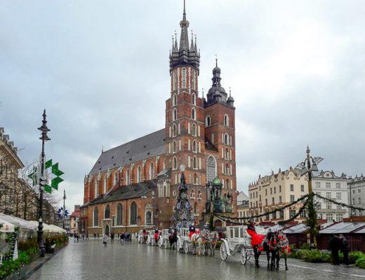 co zobaczyć w Krakowie rynek kościół mariacki