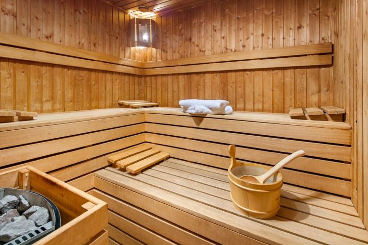 hotele nad morzem sauna