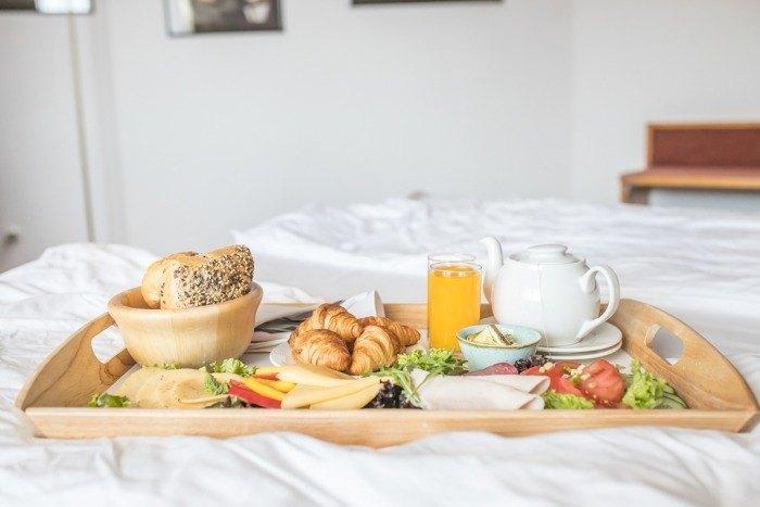 hotel nad morzem dobre śniadanie