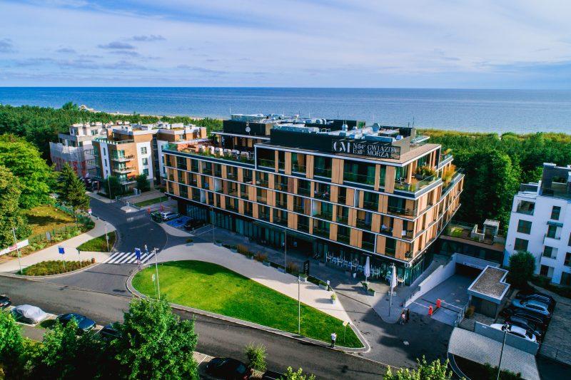 hotel nad samym morzem