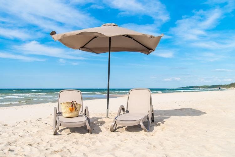 hotel nad morzem prywatna plaża