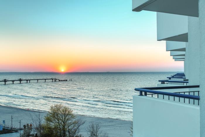najlepsze hotele nad morzem widok