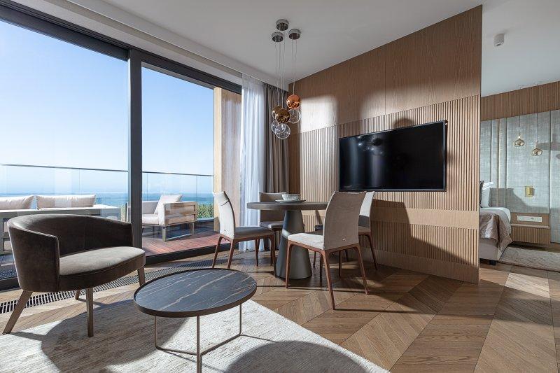 najlepsze hotele nad morzem apartament
