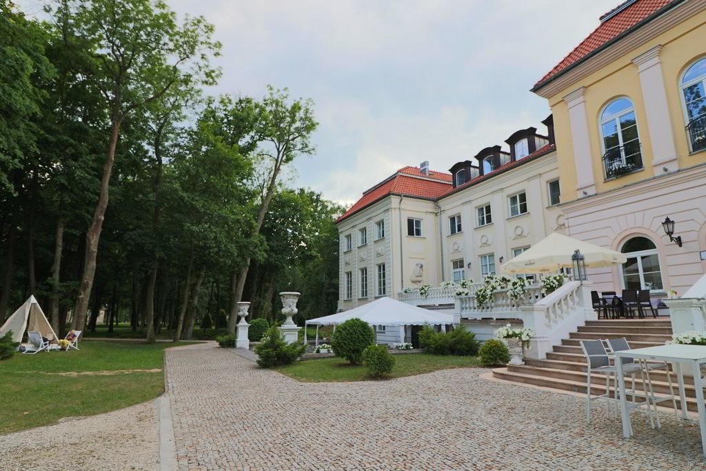 wyjątkowy hotel pałac alexandrinum