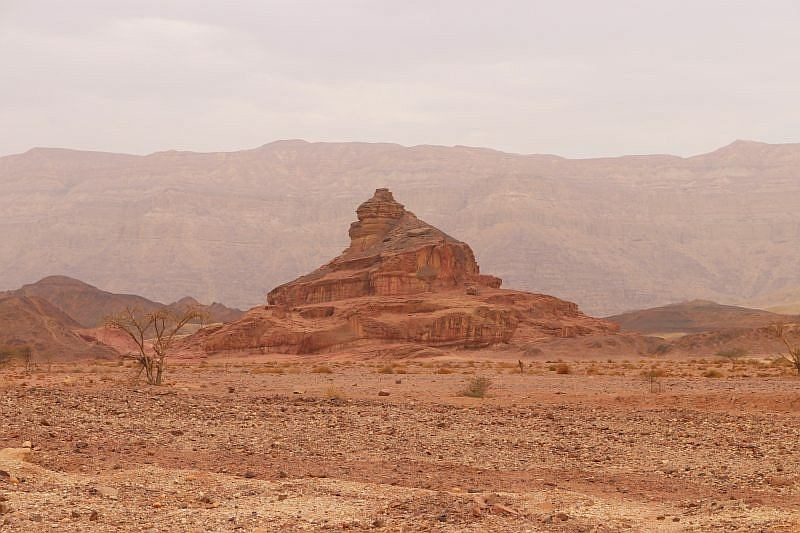 timna park spiralne wzgórze
