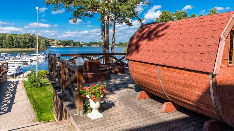 SPA na Mazurach jezioro