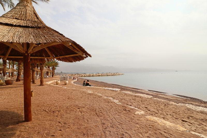 ejlat plaża miejska