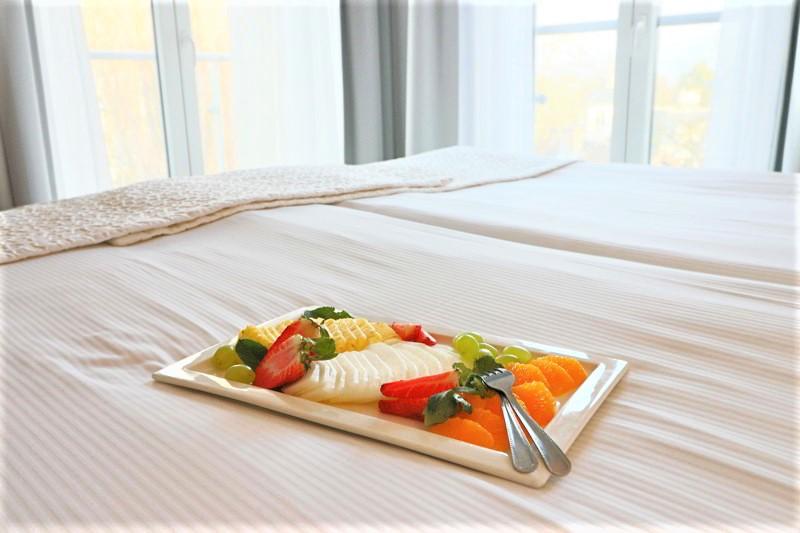 hotel aqua sopot owoce