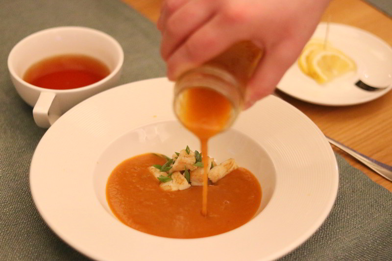 Aqua sopot zupa z dyni