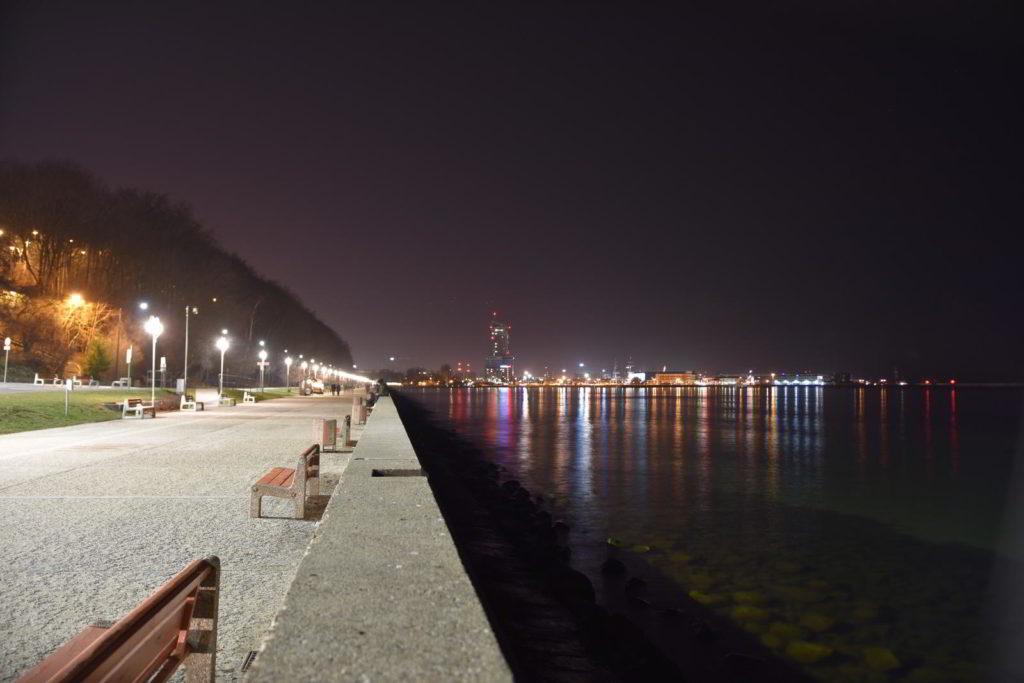 co warto zobaczyć w Gdyni bulwar nadmorski