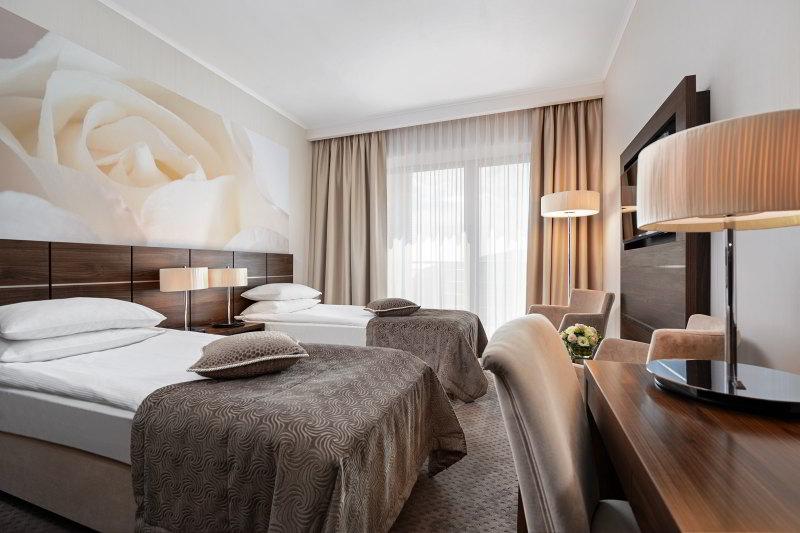 Gdynia hotel Różany Gaj pokój