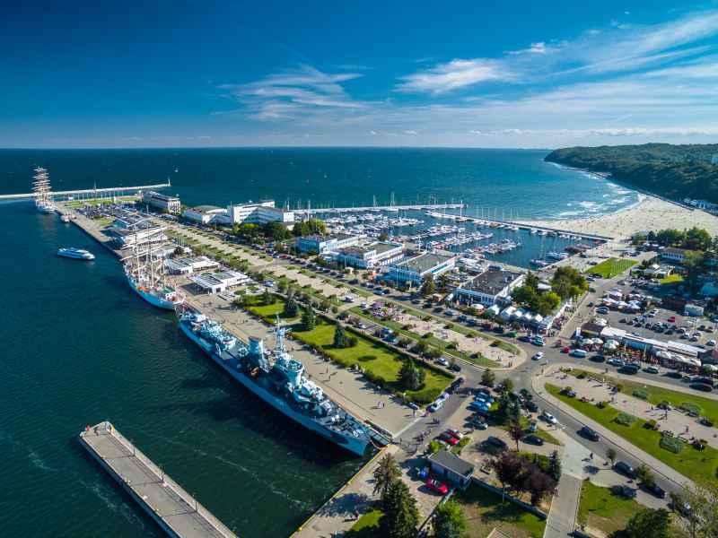 co warto zobaczyć w Gdyni port