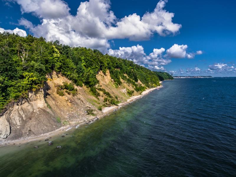 Gdynia atrakcje klif orłowski