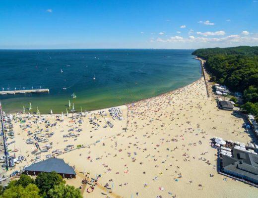 co warto zobaczyć w Gdyni plaża