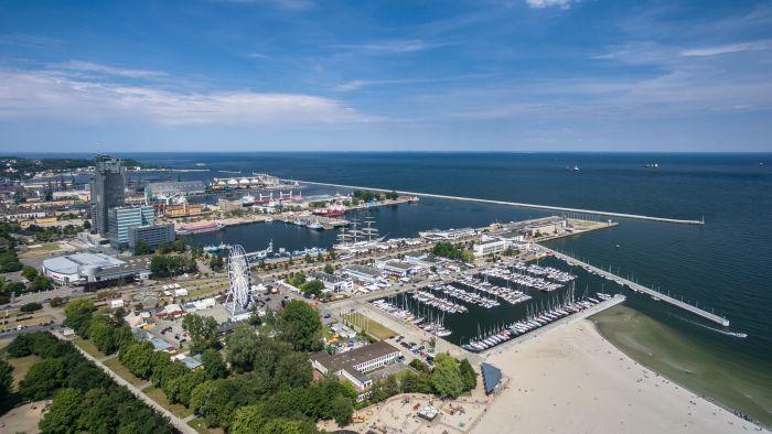 Gdynia atrakcje plaża