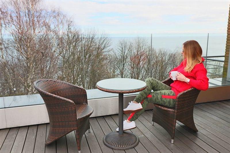 hotel różany gaj widok na morze