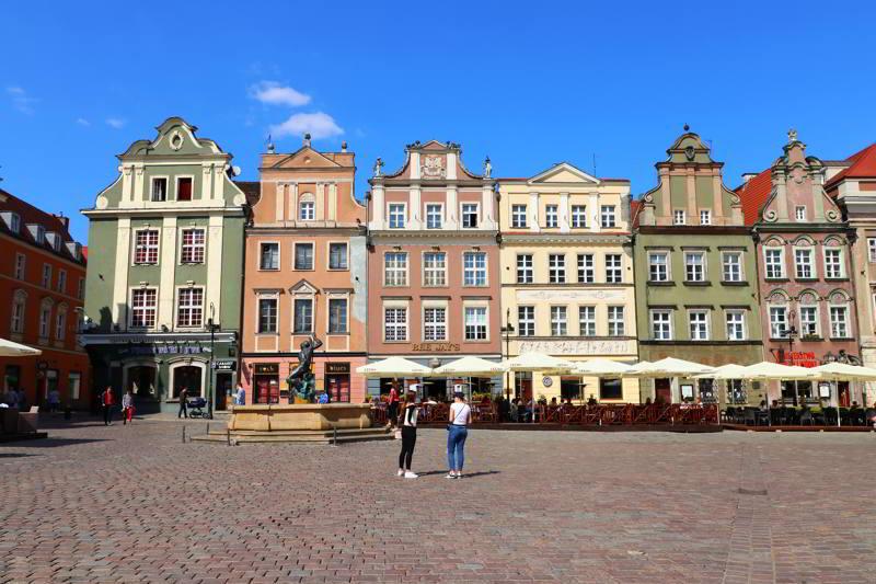 Poznań co zobaczyć Stary Rynek