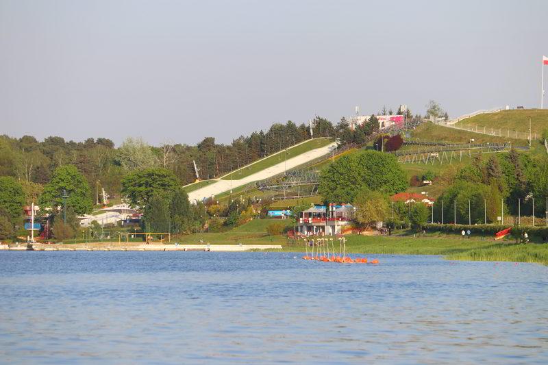 Poznań atrakcje Jezioro Maltańskie
