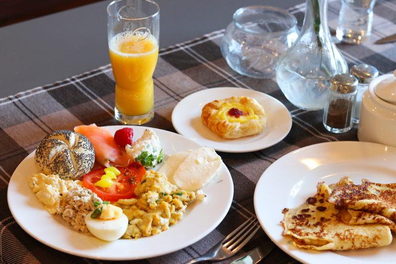 Hotel blisko Poznania śniadanie